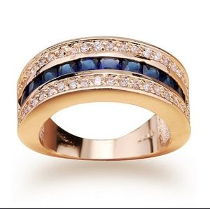 Other - Gold and Sapphire Ring